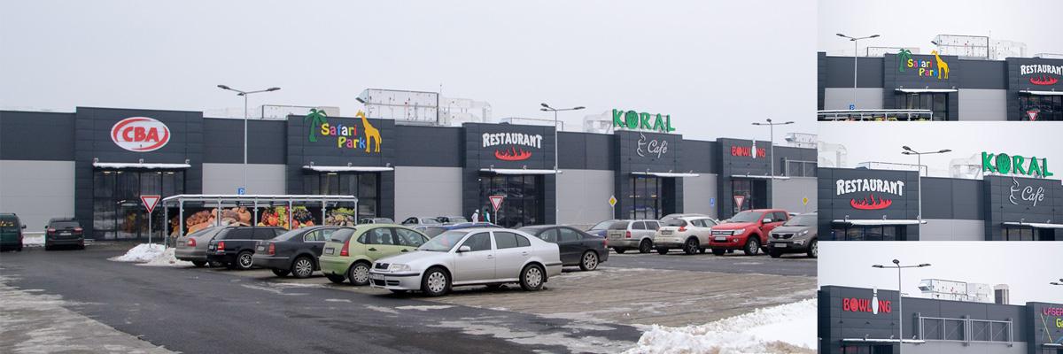 Obchodné centrum KORAL - Prešov
